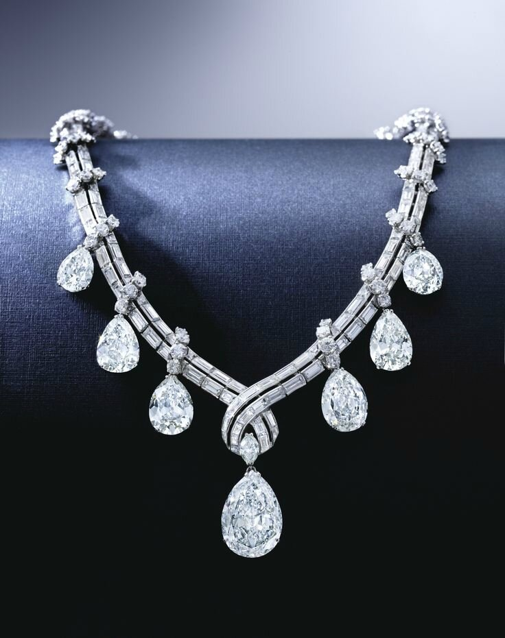 Fine Diamond Necklace, Bulgari, Circa 1950s