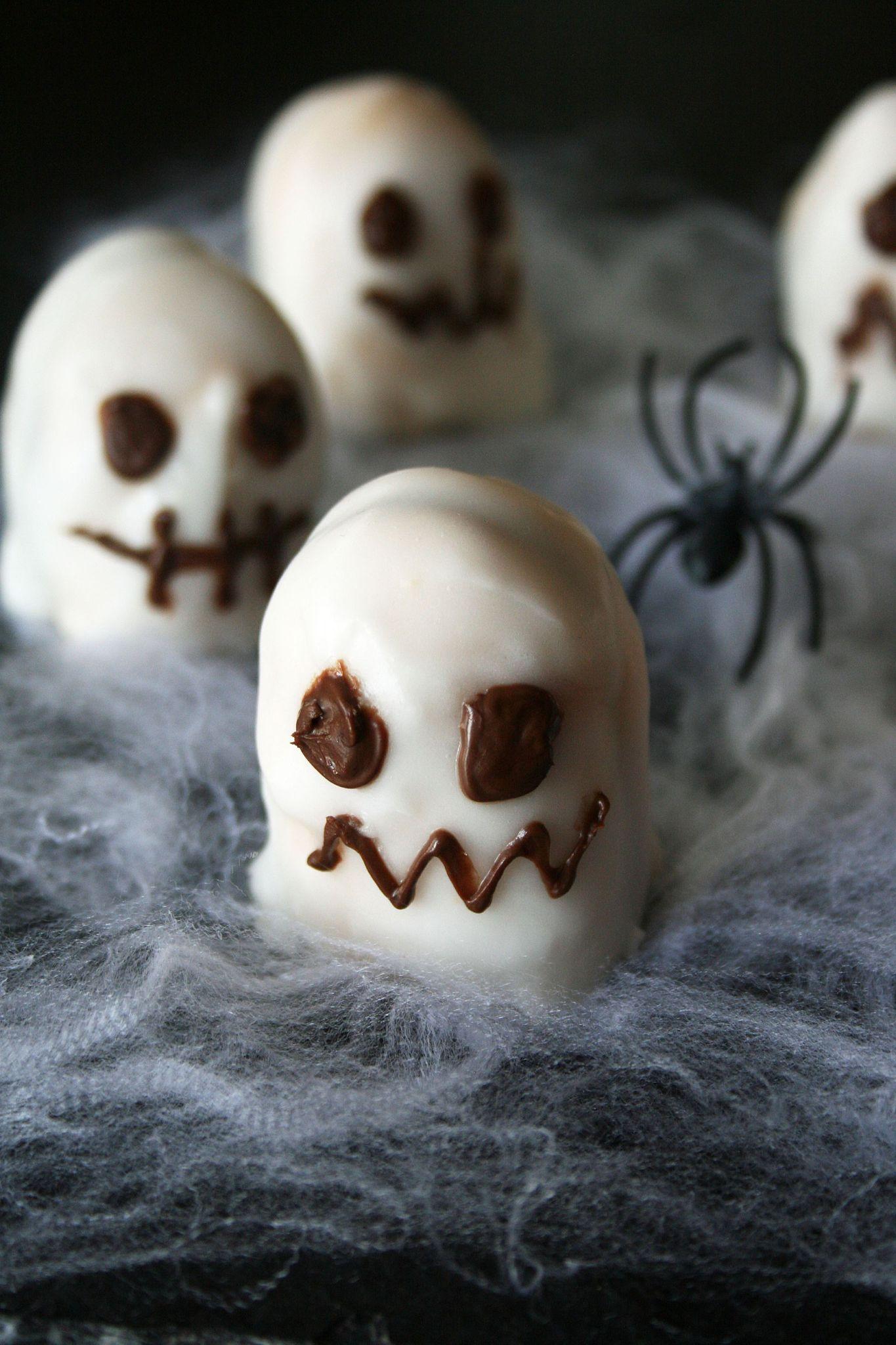 Recette gateau aperitif halloween