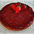 Fondant fraises-amandes