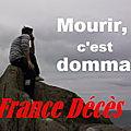 France Décès, votre quotidien qui ne parle que de décès