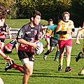 2011-2012, cadets contre Izon, 12 novembre