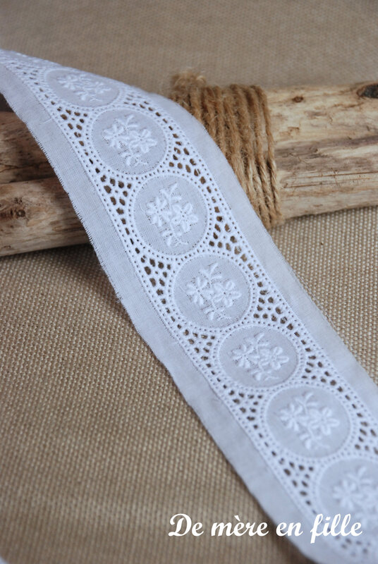 broderie anglaise entra deux
