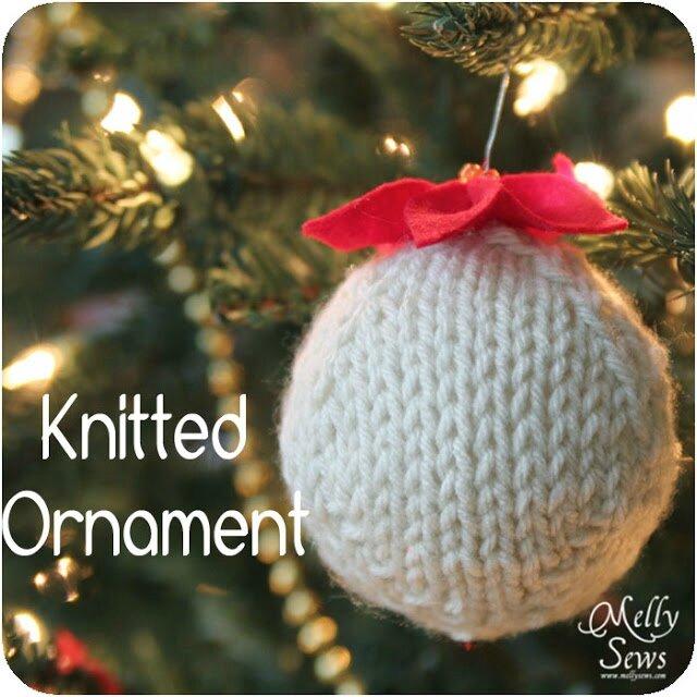 Comment tricoter une boule de Noël pour le sapin ?  Stéphanie bricole
