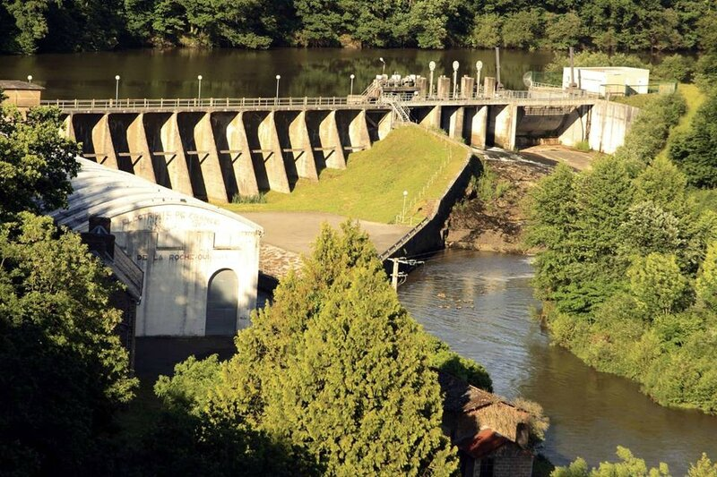 barrage Sélune la Roche-qui-Boit