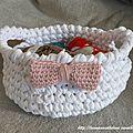 Panière trapilho Crochet 2014