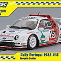 Redeco ford rs200 msc