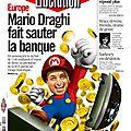 Mario draghi fait sauter la banque