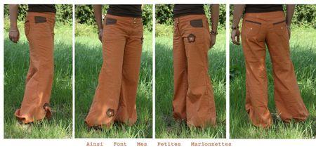 pantalon orange 1