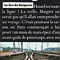 Le fou de bergerac - georges simenon - presses pocket - 1976