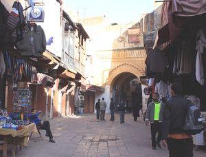 Bab MAGANA Mellah FES Maroc