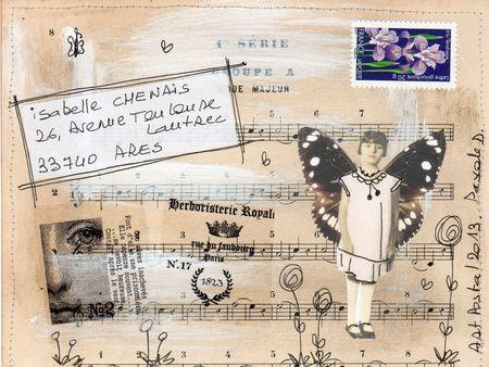 Mailart pour Isabelle Chénais 001