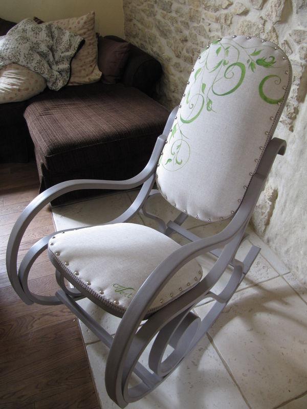 rockingchair revisit l 39 atelier vert anis. Black Bedroom Furniture Sets. Home Design Ideas