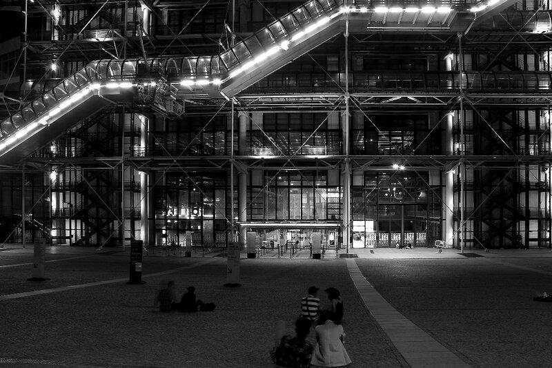 5-Beaubourg by night_1505