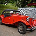 MG TD roadster 1951 Baden Baden (1)