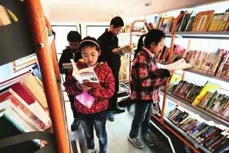 Des « bibliothèques mobiles » pour promouvoir le développement culturel au Sichuan