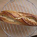 Mon 1er pain au levain naturel maison!!