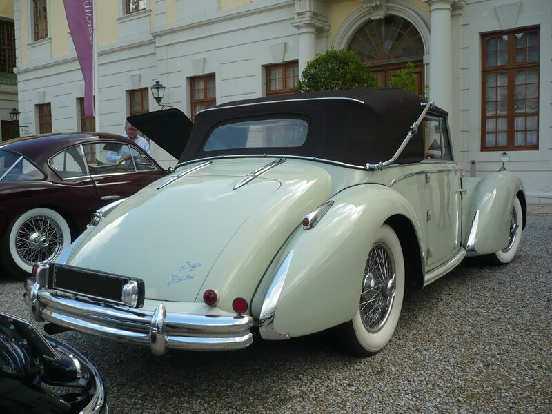 TALBOT LAGO T26 Record cabriolet 1949 Ludwigsburg (2)