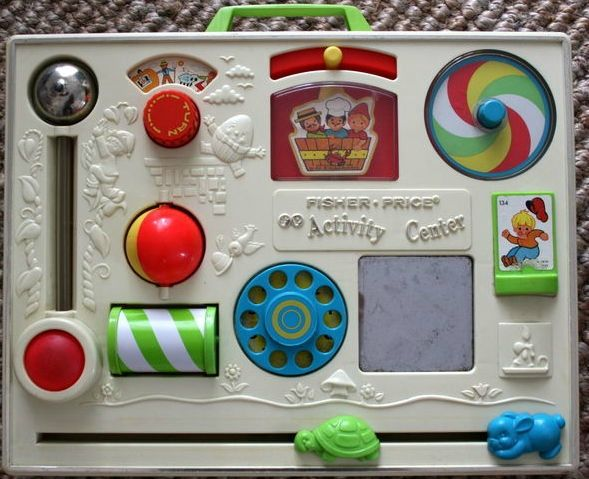 Fisher Price tableau jeux