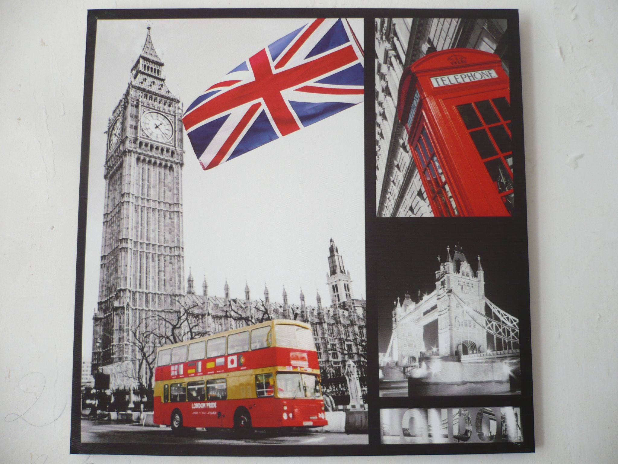 Deco londres gifi - Decoration chambre london ...