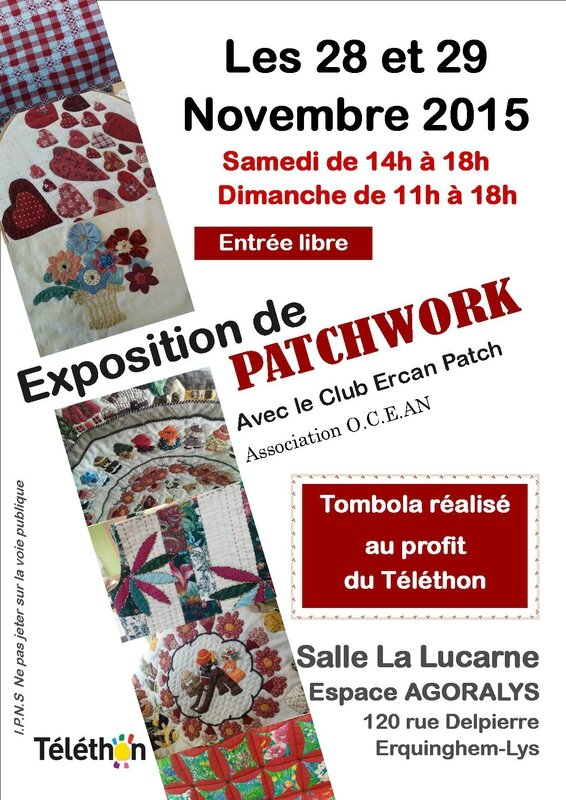 affiche expo patchwork