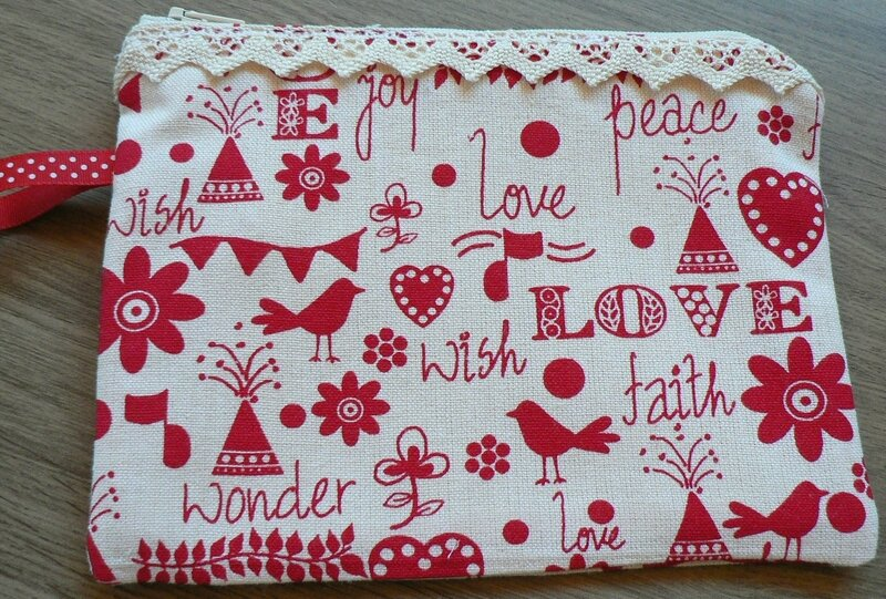 Trousse Love Peace