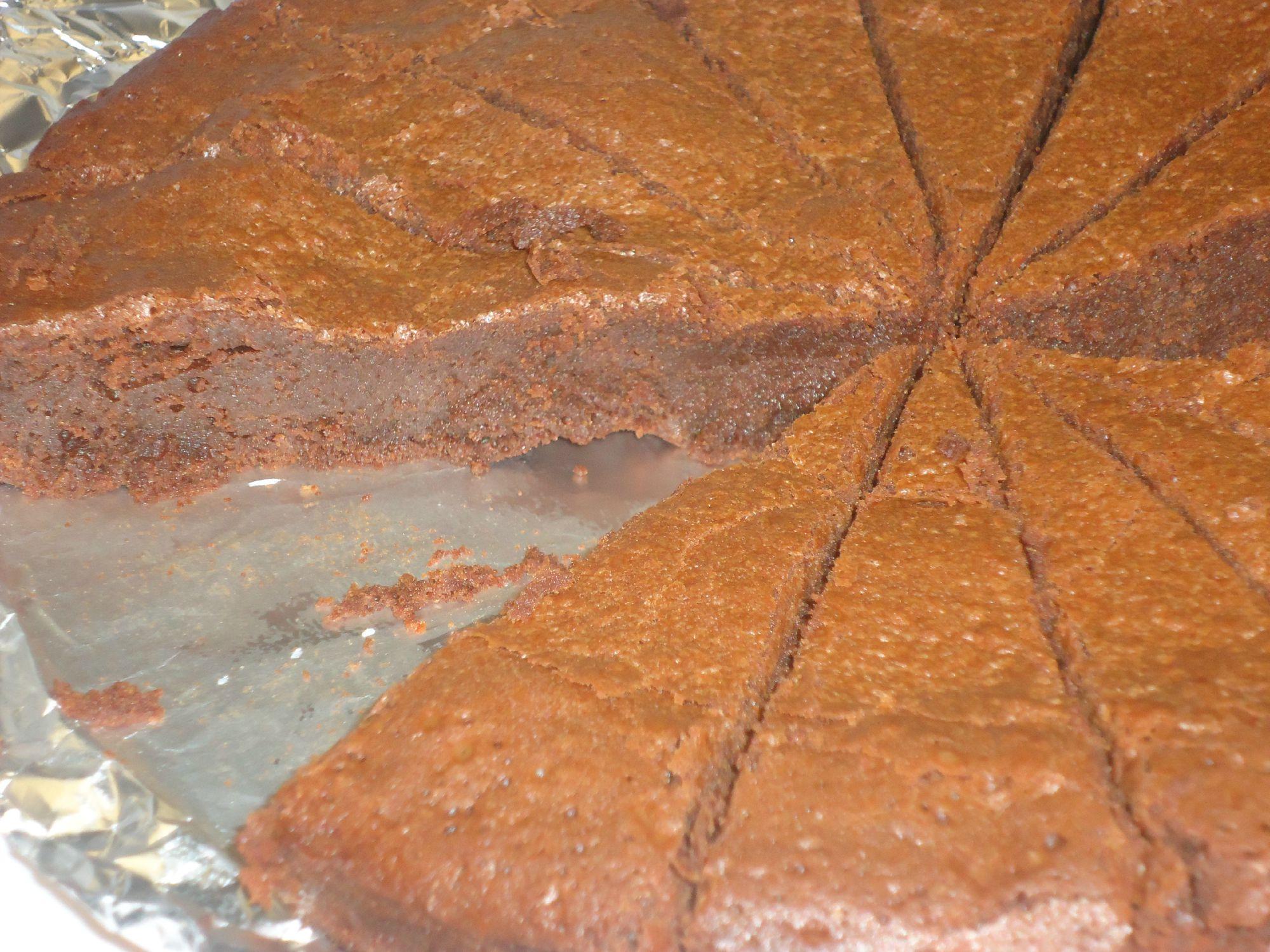 Très, très bon gâteau au chocolat
