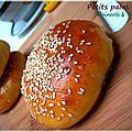 Petits pains aux épinards et au thon
