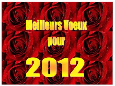 voeux roses 2012