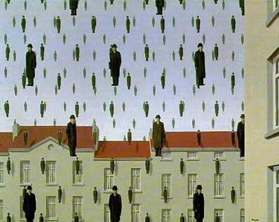 à la manière de René Magritte