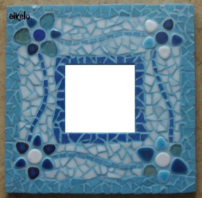miroir_mosaik_bleu