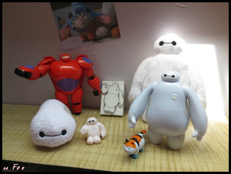 collection baymax arrivé tsum