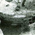 fouilles du château de Vulbens par F. Raynaud, tour