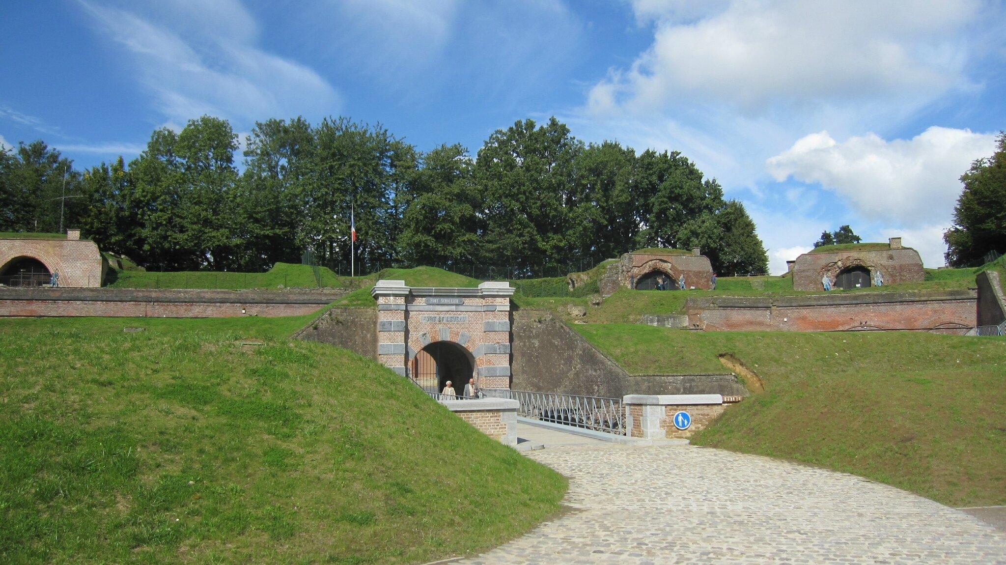 GUERRE 14-18 - le Fort de Leveau