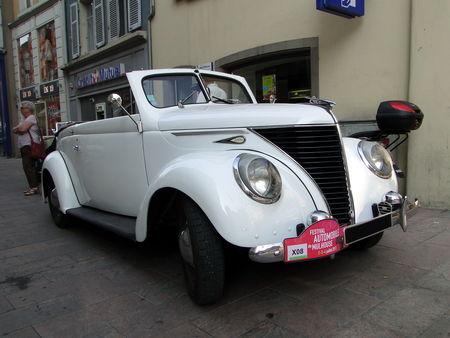 MATFORD V8 Cabriolet 1939 Festival Automobile de Mulhouse 2010 3