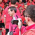 Saison 2011-2012, école de rugby, minimes x Langon, 8 octobre