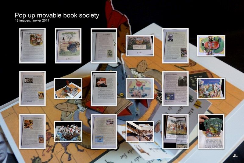 Pop up movable book society1