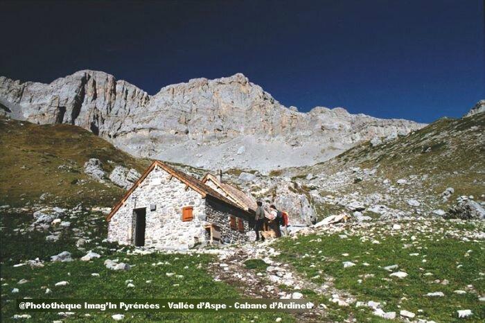 bivouac de la cabane d'Ardinet gr10