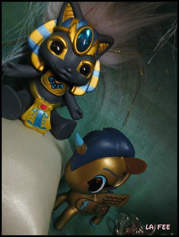 Osiris et Cléocat