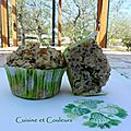 Muffin monday # 36 : muffin au concombre, aneth et moutarde