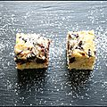 Blondies aux ppites de chocolat & aux tourbillons de mascarpone !