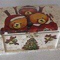 Boite oursons / Christmas bear boxe