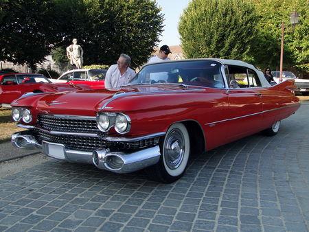 CADILLAC Series 62 Convertible 1959 American Car Festival ACCF Ecquevilly 2009 1