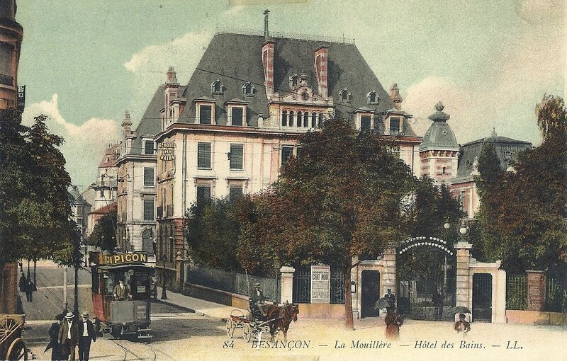C - 84 - La Mouillére - Hôtel des Bains