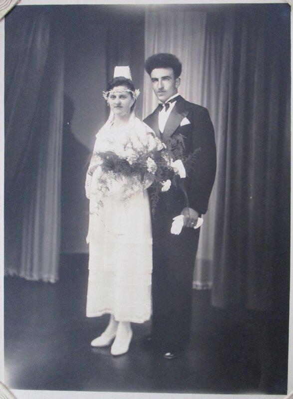 1939 M à Saint-Coulitz Alain Q et Marie Anne SEZNEC