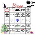 Challenge bingo