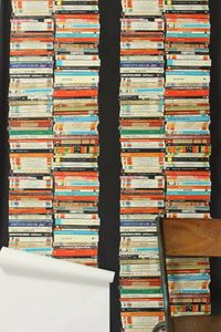 wall paper livres Anthropologie