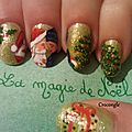 nail art noël Crocongle