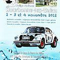 Présentation du rallye national de bourbonne-les-bains 2012