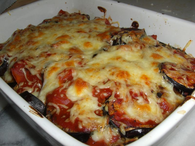 gratin d 39 aubergine tomate mozzarella recettes by chouchou. Black Bedroom Furniture Sets. Home Design Ideas