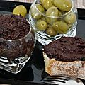 Tapenade sans anchois ( vegan )